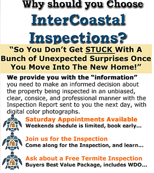 InterCoastal Inspections | The Port Orange Home Inspector | 386-868